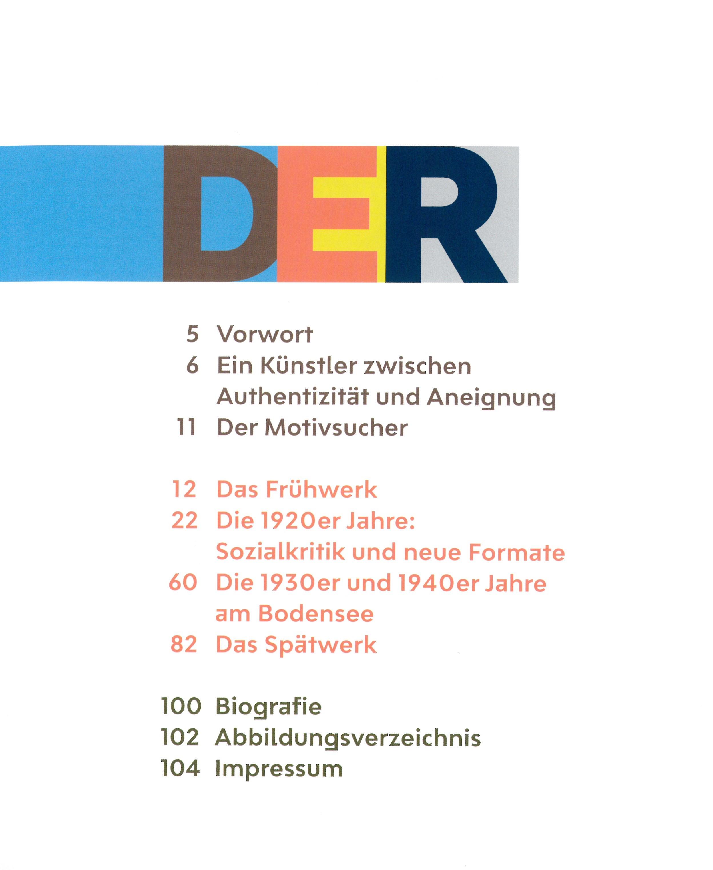 """Katalog """"Max Ackermann. Der Motivsucher"""""""