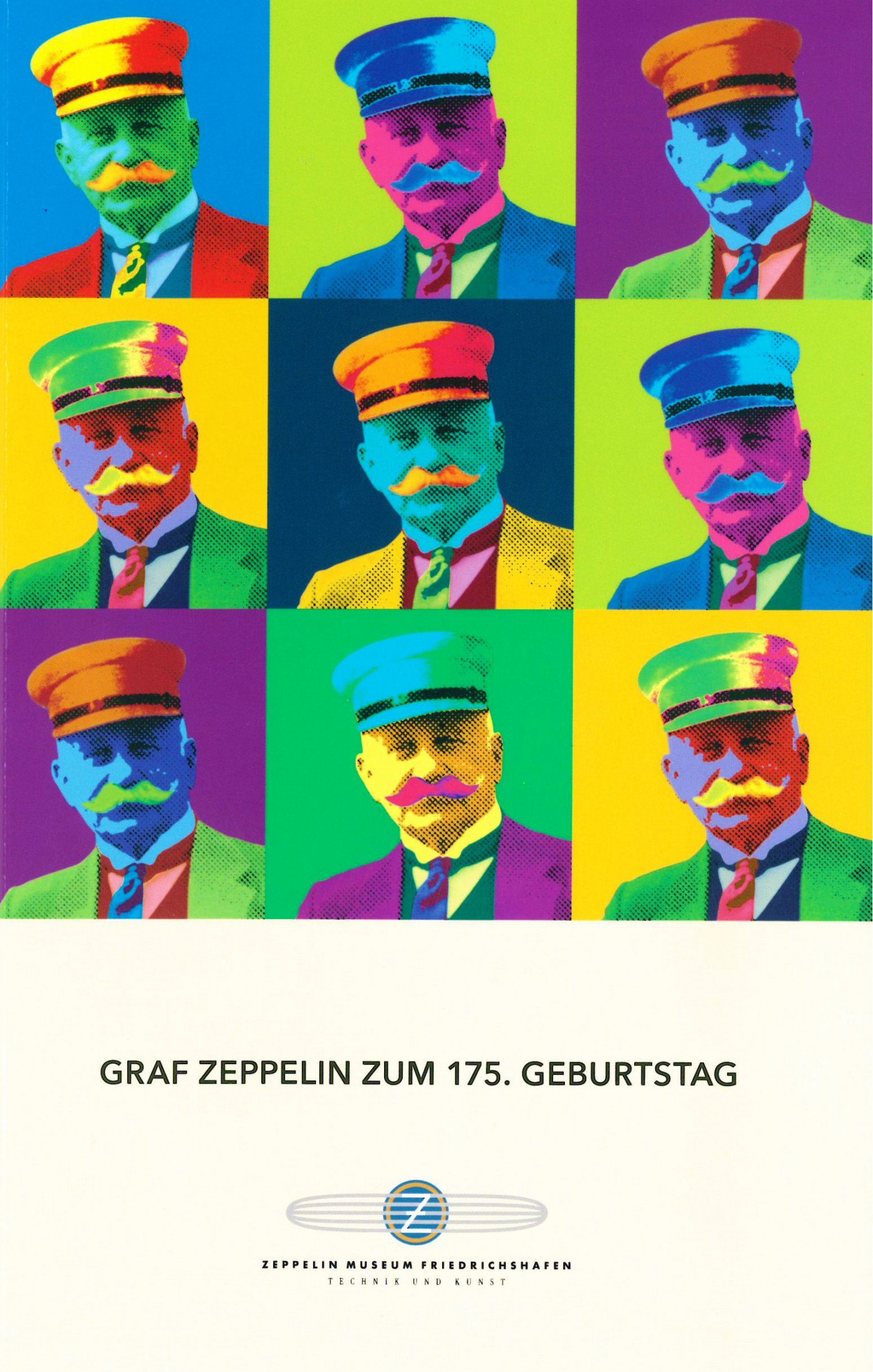 Broschüre: Graf Zeppelin zum 175. Geburtstag