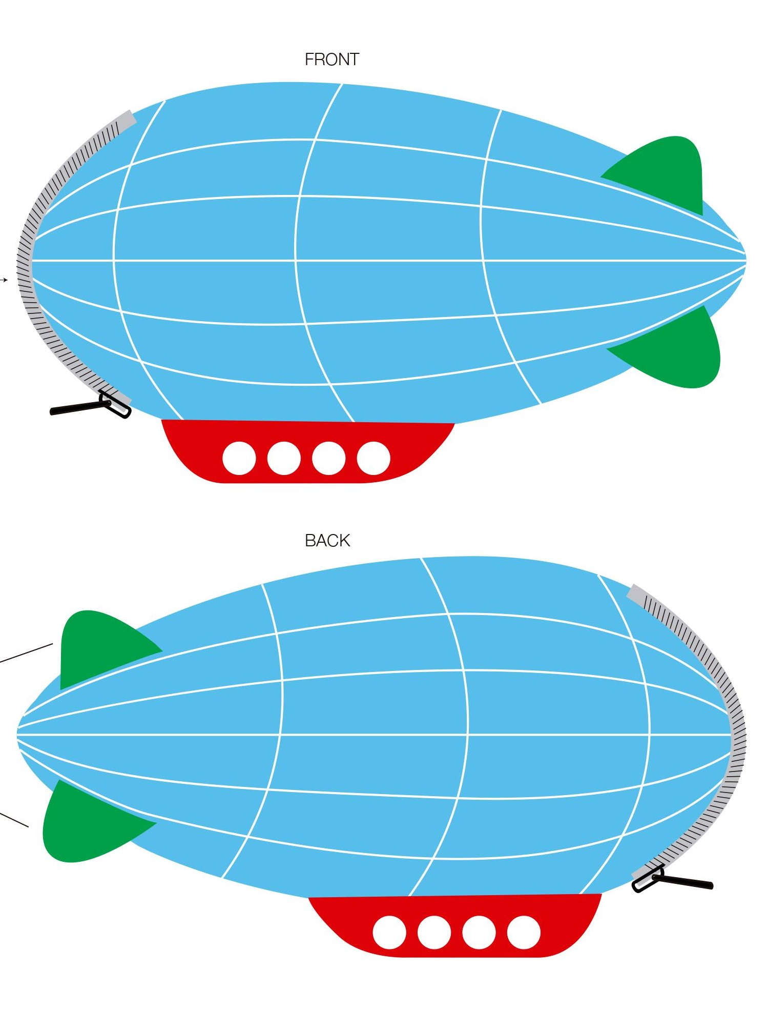 Federmäppchen Zeppelin
