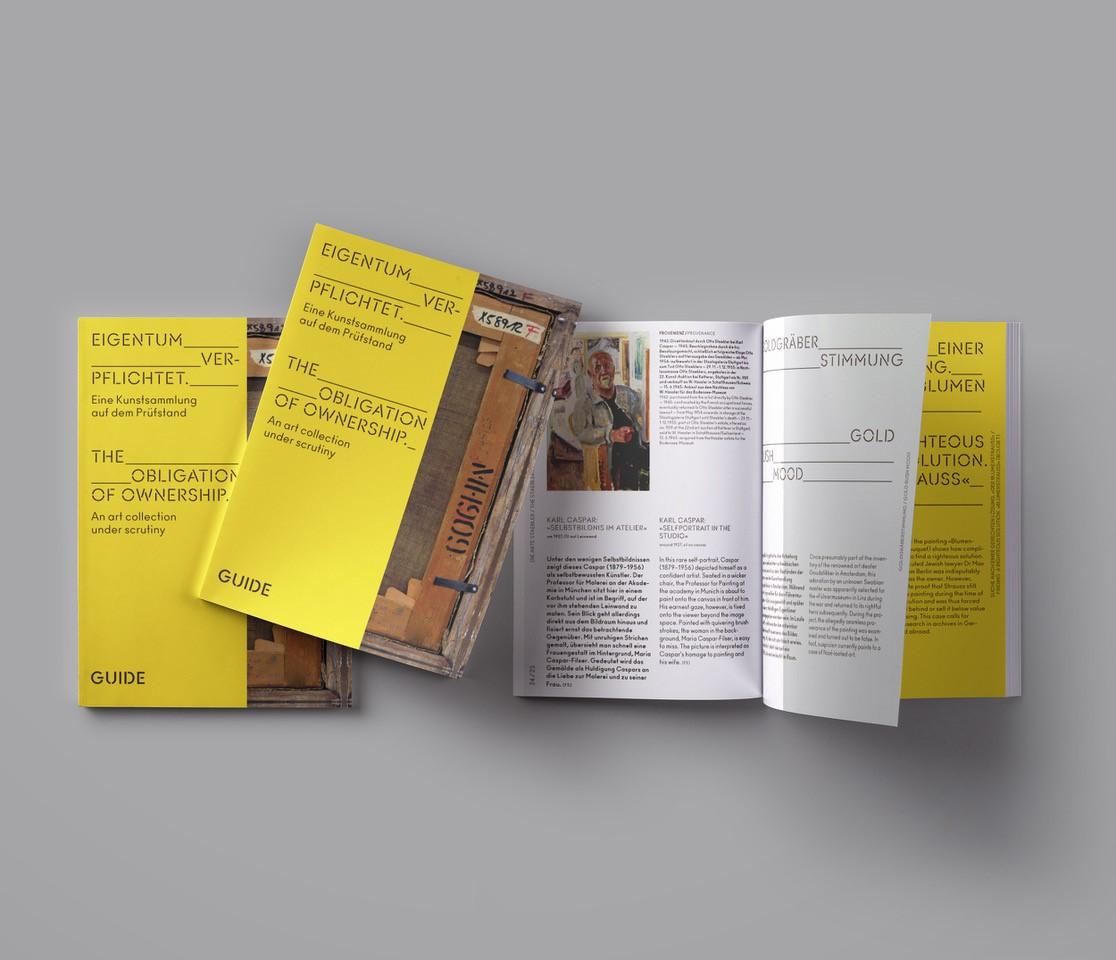 """Booklet """"Eigentum verpflichtet"""""""