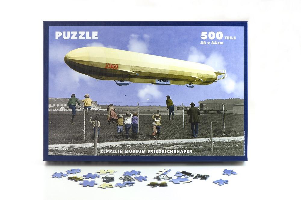 Puzzle Schwaben mit Kindern