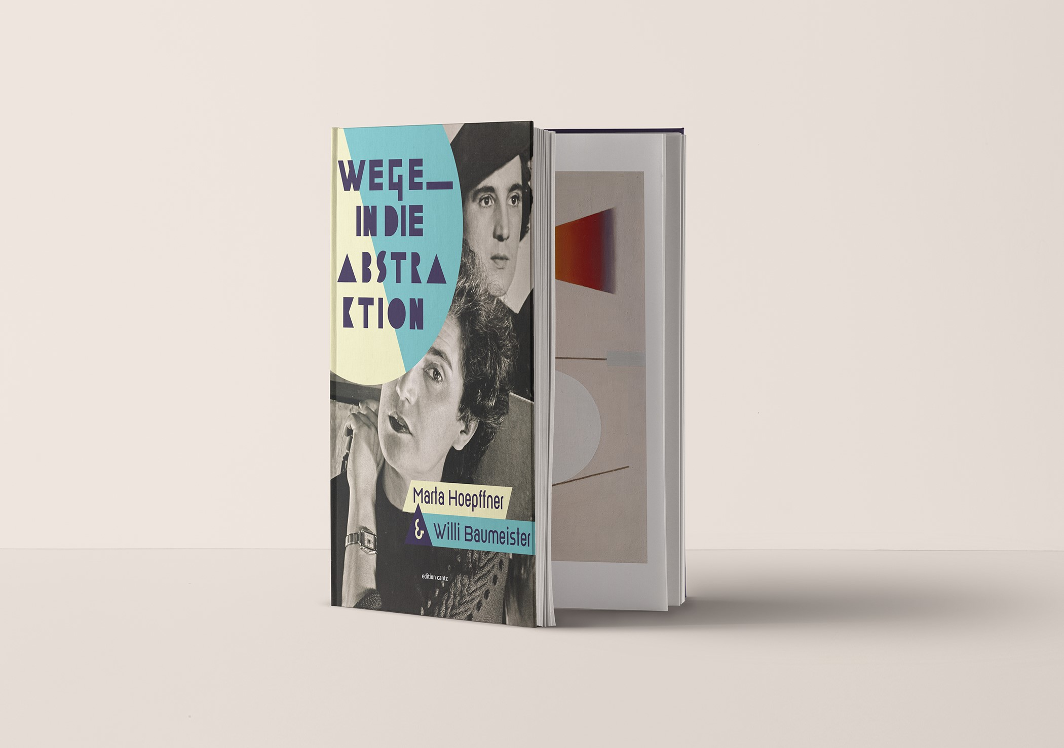 "Katalog ""Wege in die Abstraktion. Marta Hoepffner & Willi Baumeister"""