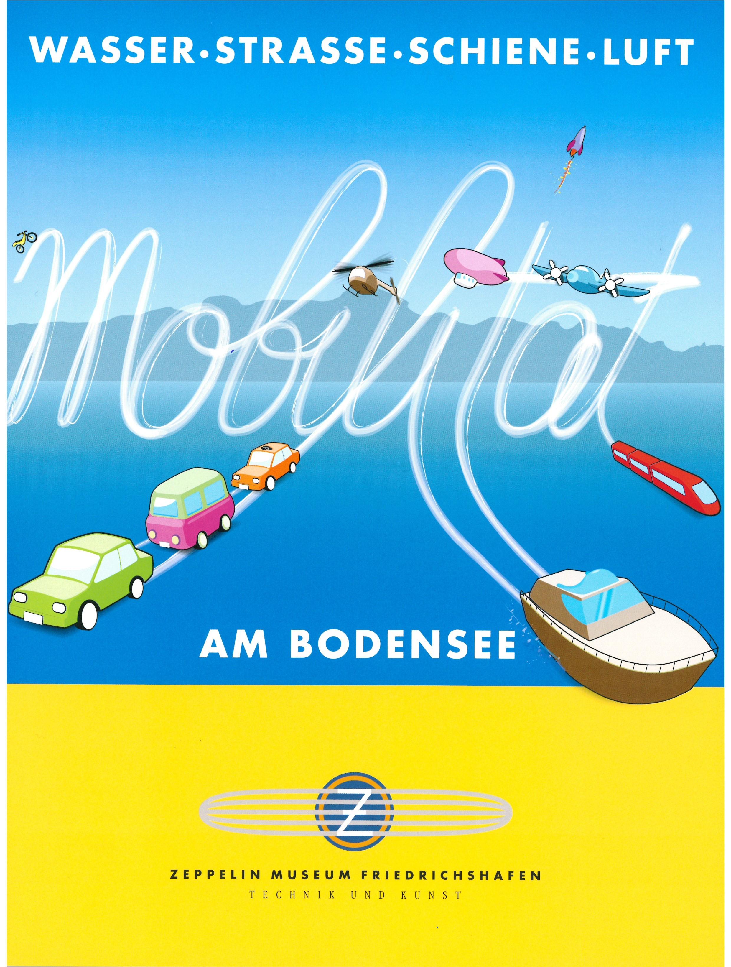 Broschüre Wasser • Strasse • Schiene • Luft - Mobilität am Bodensee