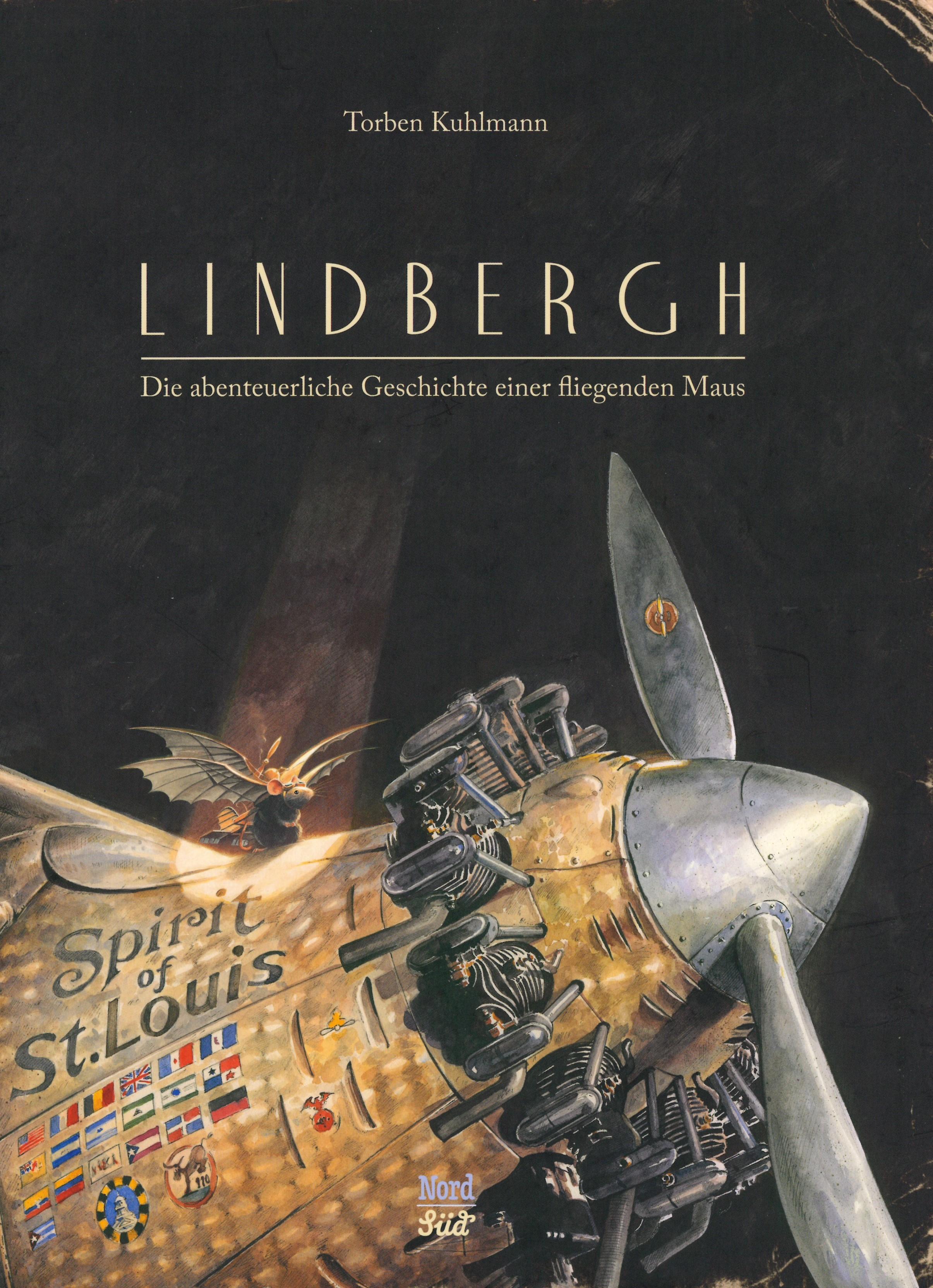Torben Kuhlmann: Lindbergh. Die abenteureliche Geschichte einer fliegenden Maus